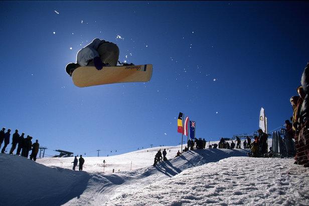 Snowboard - Snow Park Kronplatz