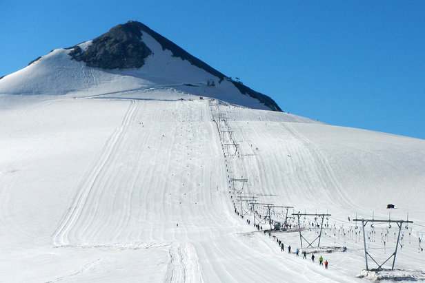Sci estivo a Passo Stelvio - ©Pirovano