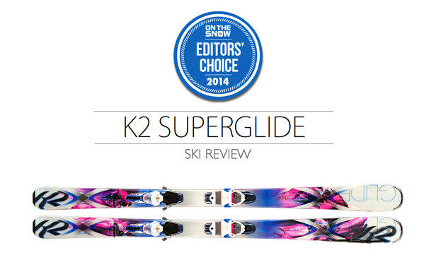 2014 Women Frontside Editor Choice Ski: K2 SuperGlide