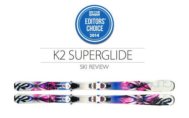 2014 Women Frontside Editor Choice Ski: K2 SuperGlide