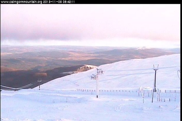 Cairngorm Mountain webcam Nov. 6, 2013 - ©Cairngorm Mountain