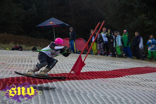 Loughborough Uni slalom - ©Tom Robertson