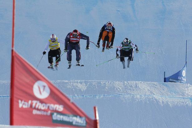 Ski cross à Val Thorens - ©© Christophe Pallot / Agence Zoom