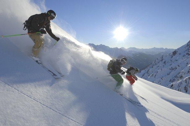 Alpenes 10 beste steder for offpiste - ©TVB St Anton / Josef Mallaun