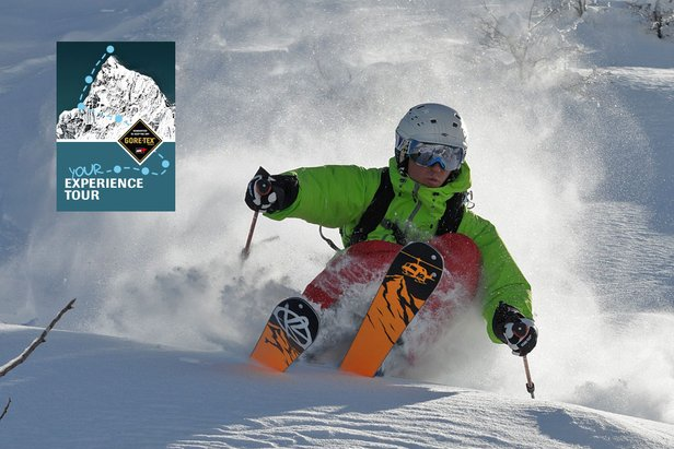 GORE-TEX® Experience Tour « Free Ski Mountaineering Camp »