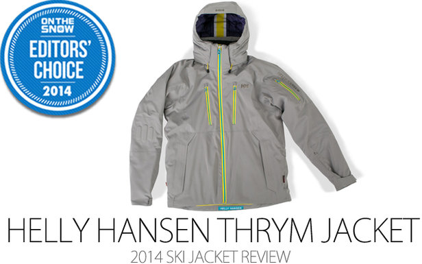 Helly Hansen Thrym Jacket, 2014 Editors Choice Men Ski Jacket