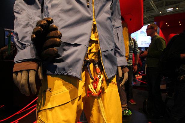 Mammut Freeride-Hose mit Klettergurt - ©Skiinfo