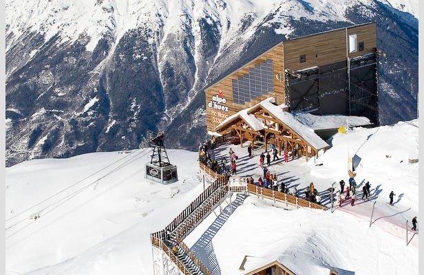 Plenty of snow in Alpe d'Huez Jan. 22, 2014