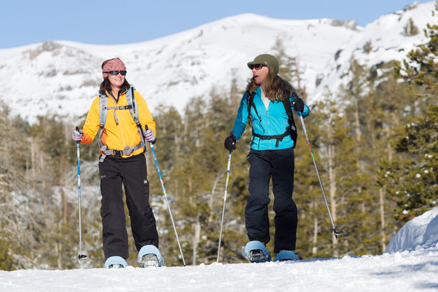 - ©Snow Shoe Tours are a great way to experience the High Sierra