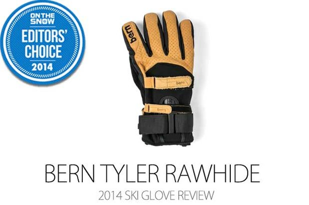 Bern Tyler Rawhide glove - ©Julia Vandenoever