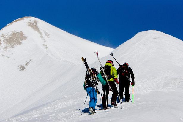 Hors piste à Serre Chevalier - ©Office de Tourisme de Serre Chevalier