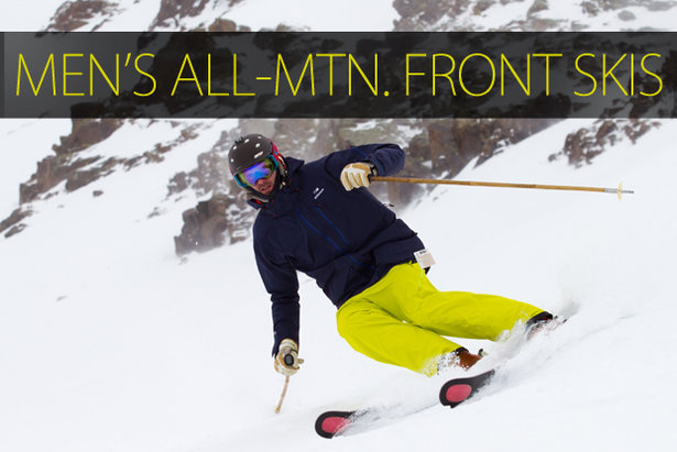 Men's 2015 All-Mountain Front Skis - ©Cody Downard Photography