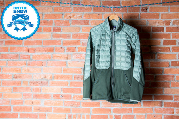 2015 men's mid layers Editors' Choice: Patagonia Hybrid Down Jacket - ©Liam Doran
