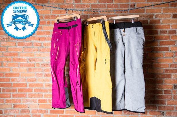 2015 women's ski pants Editors' Choice - ©Liam Doran