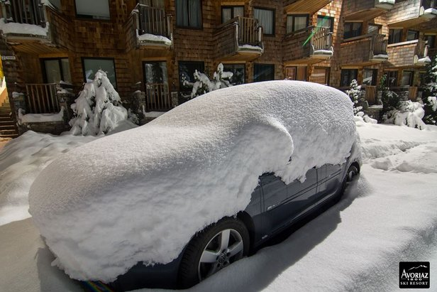 The heavy snow in Avoriaz last week (pic Nov. 6) will be followed by a further 35cm this weekend