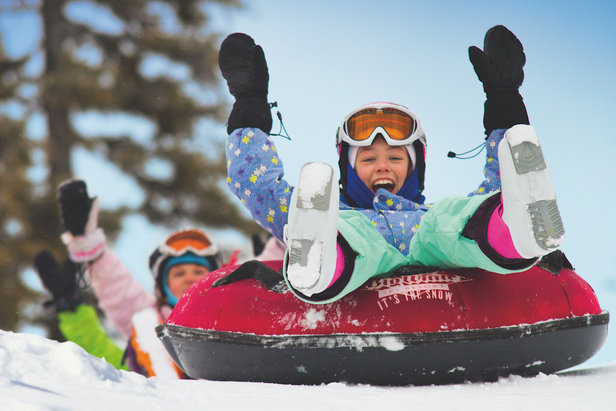 Tubing fun at Big White. - ©Big White Ski Resort
