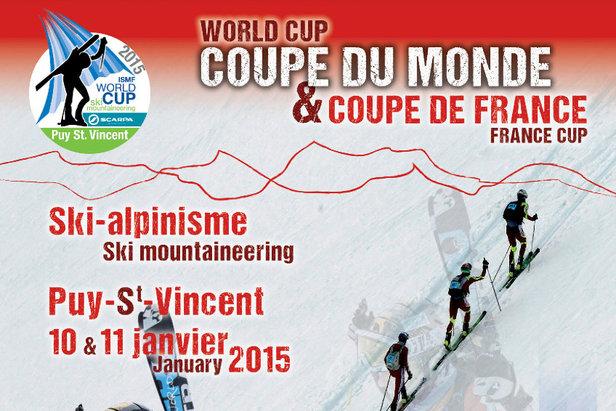 Puy Saint Vincent sera l'unique étape française de la Coupe du Monde ski alpinisme 2015 - ©Pays des Ecrins