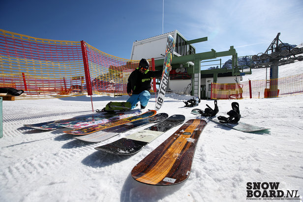 Snowboardtest 2015