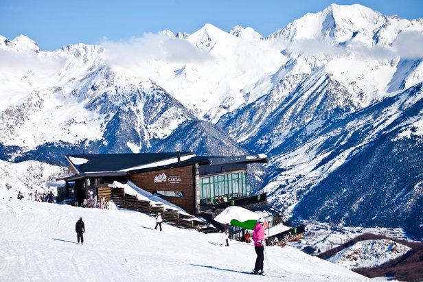 Sur les pistes de ski de Formigal - ©Aramon