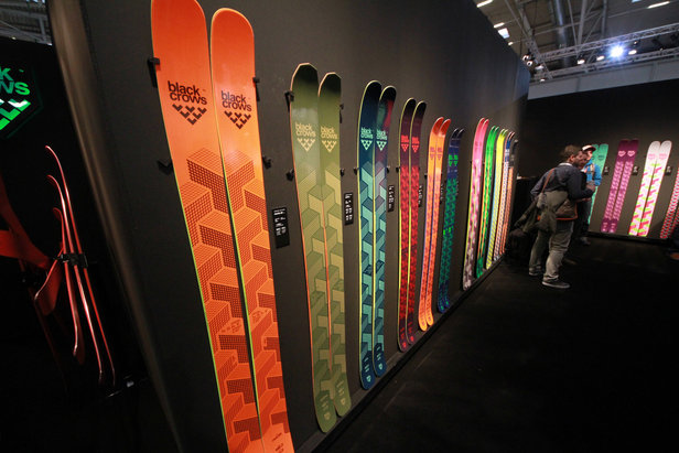 Black Crows auf der ispo 2015 - ©Skiinfo