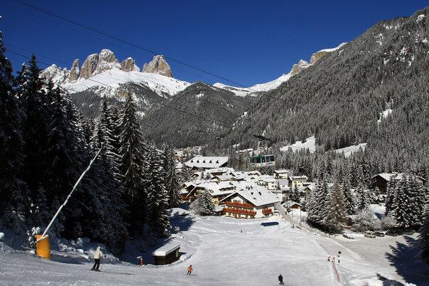 Le migliori 10 piste della Val di Fassa - 6) Skiarea Alba Ciampac - ©Val di Fassa / R. Bernard