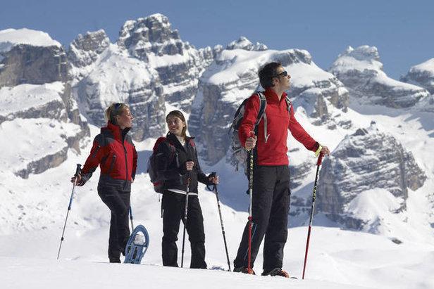 Racchette da neve per ciaspolare in Trentino