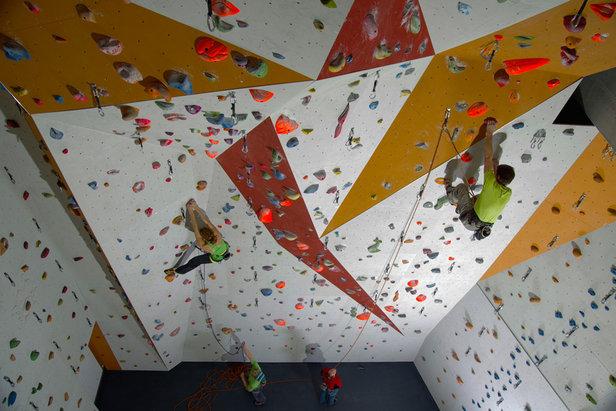 Kletterwand Adelboden