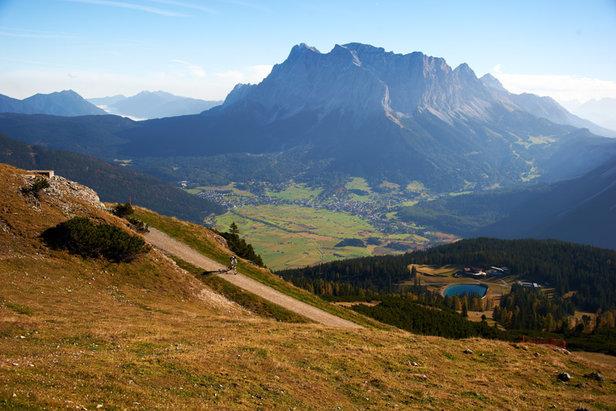 Unterwegs in der Tiroler Zugspitzarena