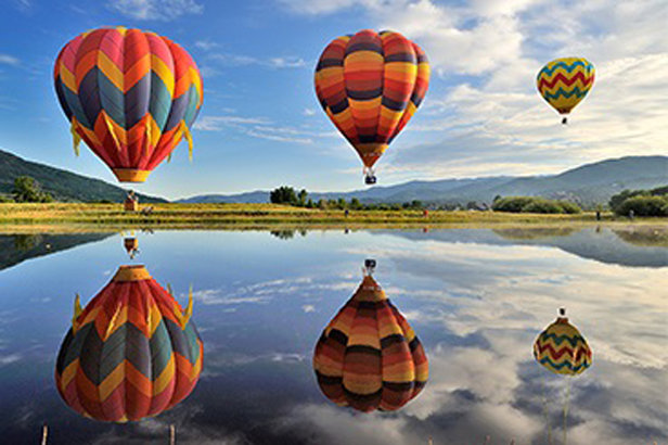 Steamboat Hot Air Balloon Rodeo - ©Steamboat