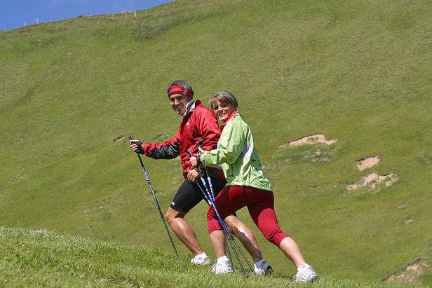 Nordic Walking Serfaus Fiss Ladis