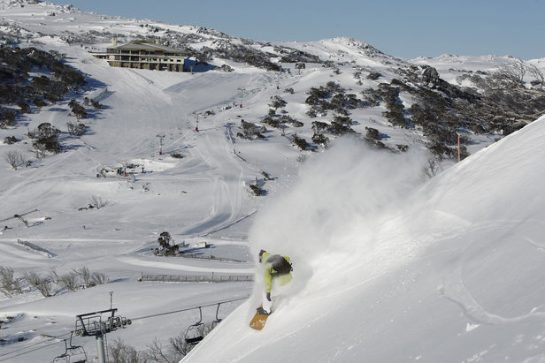 Perisher Resort sits in the Australian Alps. - ©Perisher Resort