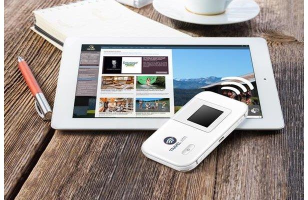 Pocket wifi hotspot - ©Les Gets
