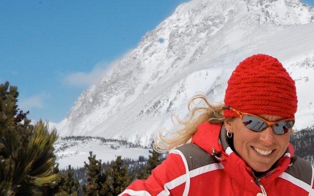 Eldora Mtn CO female skier 2008