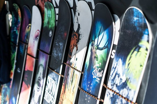 - ©Come demo the newest skis and snowboards on the market!