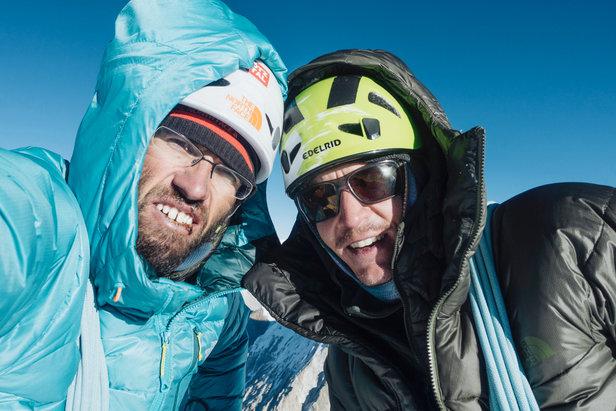 Hansjörg Auer und Alex Blümel gelingt Erstbesteigung am Gimmigela Chuli East  - ©The North Face/Florian Schneiderbanger-crystal communications