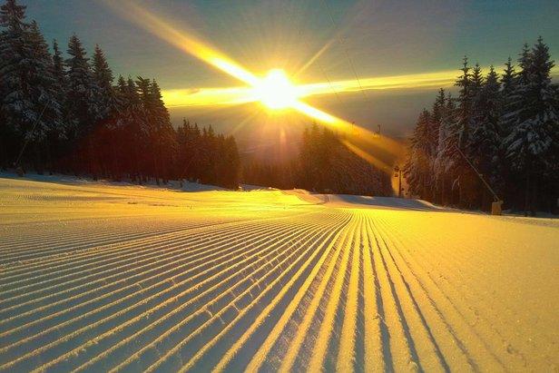 Znakomite warunki narciarskie w Czechach - ©facebook SkiResort ČERNÁ HORA - PEC
