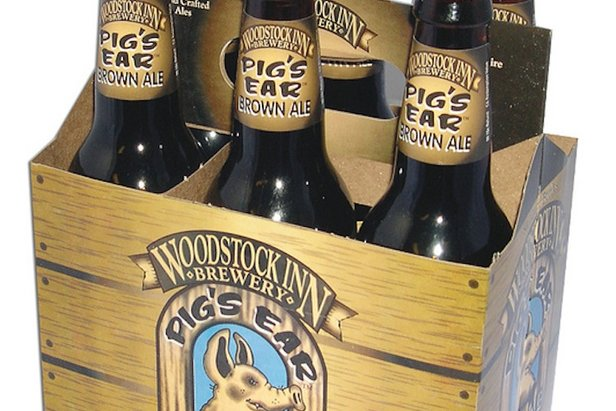 Pig's Ear Brown Ale is a great choice when coming fresh off the slopes.