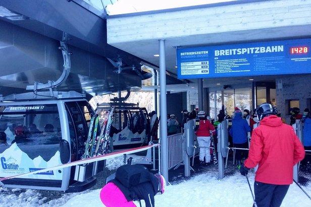 Nowa 10-osobowa gondola Breitspitzbahn Galtür - ©Tomasz Wojciechowski
