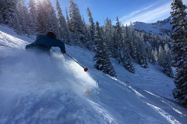 A Powder Day in Telluride - ©Telluride Ski Resort