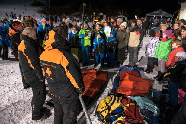 rencontre pisteurs secouristes des Orres - ©Association Orres des pistes / Francois Mochi