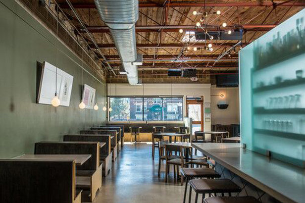 Adjacent to the Urban Lounge, Rye offers starters like roasted edamame or pork belly lettuce wraps. - ©Rye