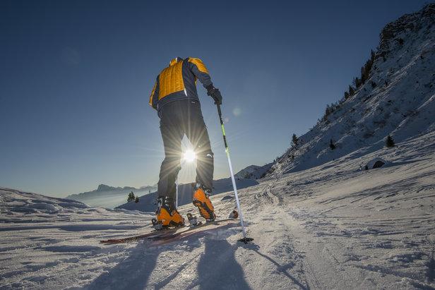 ski de randonnée - ©Groster - Fotolia.com