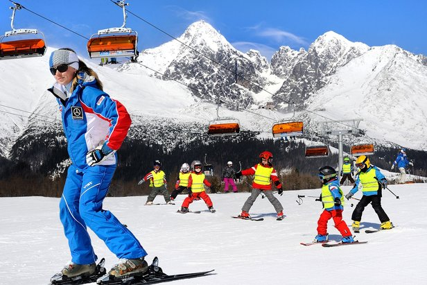 Jarní prázdniny jsou příležitostí naučit se lyžovat - ©archív TMR