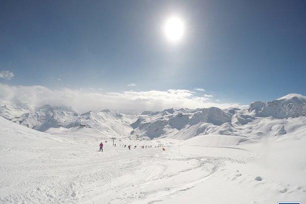Schneebericht: Letzte Märzwoche bringt viel Sonnenschein für den Alpenraum - ©Tignes/Facebook