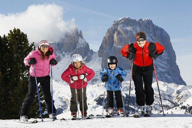 Val di Fassa: fino al 25 Febbraio conosci i Campioni con mamma e papà - ©www.fassa.it