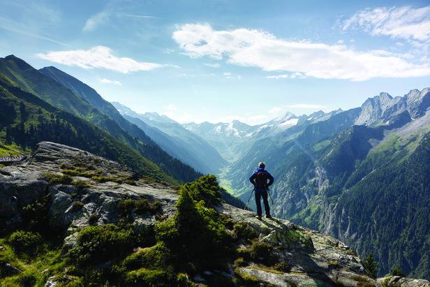 Sommerurlaub in Mayrhofen: Viele Angebote für Bergsportfans - ©Bergbahnen Mayrhofen