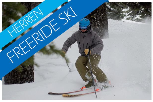 Freeride Ski Test 2017/2018 - ©Skiinfo / OnTheSnow / Realskiers.com