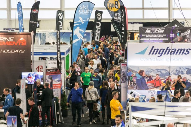 London's Ski & Snowboard Show at Battersea Park Oct. 26-29 - ©Ski & Snowboard Show