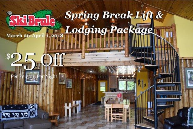 Spring Break Special - ©Ski Brule