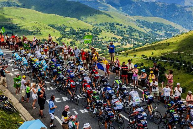 Tour de France Péyragudes - ©OT Louron